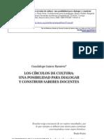 Los Circulos de Cultura - Guadalupe Juárez Ramirez