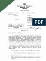 Ombudsman vs. Bernardo SC G.R. No. 181598