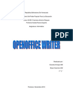Apache OpenOffice Writer Graciela 14