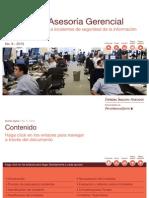 Monitoreo y Respuesta a Incidentes de Seguridad de La Informacion PwC Venezuela