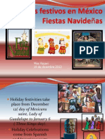 spanish 34 holiday festivities