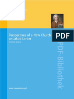 Perspectives of a New Church Research on Jakob Lorber