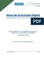 Tecnoneet - Retos de La Inclusion Digital