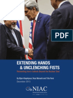 Extending Hands & Unclenching Fists