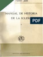 Manual de Historia de la Iglesia 5. Reforma, reforma católica y contrarreforma (H. Jedin)
