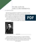 A Proposito Del Gato de Schrödinger La Decoherencia Cuantica i