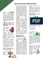 Seis Consejos Para Tener Mejores Hijos
