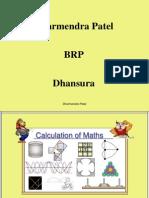 Calculation of Maths