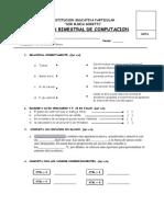 Examen Bimestral(Junio)