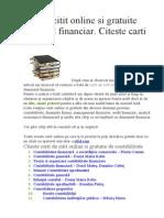 Carti de Citit Online Si Gratuite Domeniul Financiar