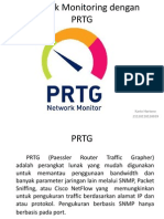 Network Monitoring Dengan PRTG
