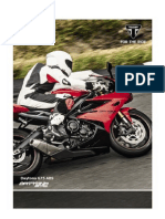 2013 Triumph Daytona 675 Abs Brochure in Dutch