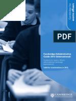 83914 Cambridge Administrative Guide 2013 International 2
