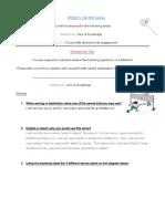 grade 6 - badminton assessment 1