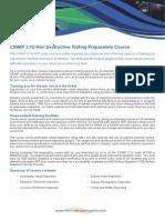 CSWIP 3.1U NDT Course Information