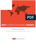 Next Generation Search Engines – Information on-Demand – Technology Advancements, Key Patent and Stakeholder Analysis (2014 – 2020)