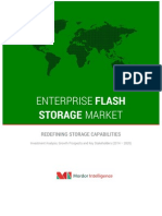 Enterprise Flash Storage – Redefining Storage Capabilities – Investment Analysis, Growth Prospects and Key Stakeholders (2014 – 2020)
