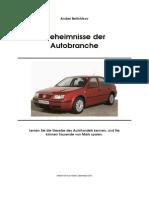 Geheimnisse der Autobranche - Andrei Beltchikov (2000)