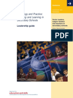 Curriculum and Standards