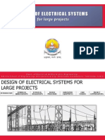Design of Electrical Systems for Large Projects