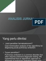 Analisis F.ekonomi