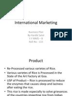 International Marketing general idea