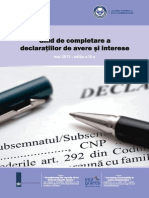 GhidCompletareDeclaratiiAvere&Interese EditiaIII Mai2013