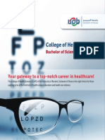 Bachelor of Science in Optometry