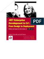 Dotnet Enterprise Development in C# - From Design to Deployment