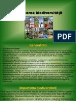 Reducerea biodiversitatii