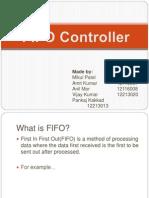 Fifo Controller Presentation Copy
