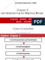Chapter 5, Soil Engineering for Highway Design