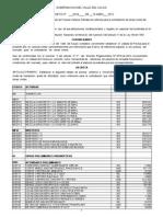 Lista Precios Oficiales 2013 Decreto 0328 -2013 Valle Del Cauca