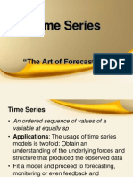 Time Series Analysis ..