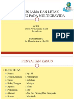 Partus Lama Dan Letak Sungsang Pada Multigravida.pptx