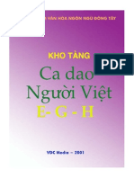 Kho Tang CA Dao Nguoi Viet (Van E-G-H)