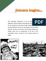 Hiroshima Nagasaki Aftermath - Booklet
