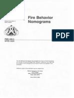 Fire Behavior Nomograms