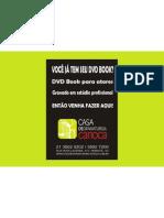 Dvd Book para Atores | Casa de Dramaturgia Carioca