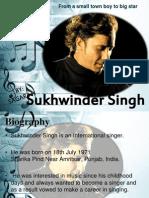 Sukhwinder Sing biblography