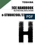 E_Studio 200L,230,280 Service Handbook
