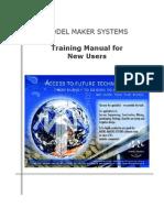 Model Maker BeginnersManual