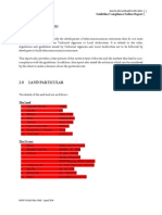 Sample GCF Report