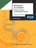 Movilizacion Sin Revolucion. El Perú en Tiempos de La Revolucion Mexicana