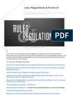 Classiblogger.com-List of Useful Rules Regulations Forms of Government