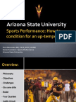 Az State Conditioning