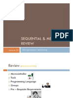 Sequential & Memory Review