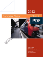 Class 9th Computer Notes