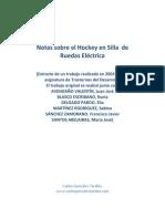 Notas Sobre Hockey en Silla de Ruedas Eléctrica