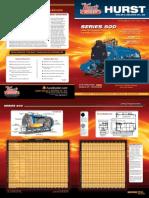 Hurst Series 500 Brochure